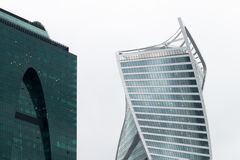 Moscow International Business Center. Moscow City Royalty Free Stock Photos