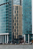 Moscow International Business Center. Moscow City Royalty Free Stock Photo