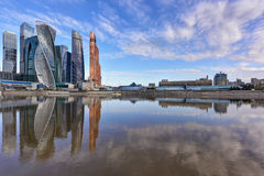 Moscow International Business Center. Moscow, Russia. stock photos