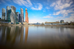 Moscow International Business Center. Moscow, Russia Stock Images
