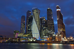 The Moscow International Business Center Stock Photos