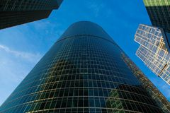 Moscow International Business Center Stock Photography