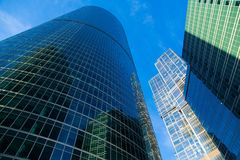Moscow International Business Center Royalty Free Stock Photos