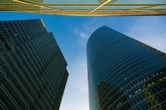 Moscow International Business Center Stock Images