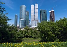 Moscow International Business Center Stock Image
