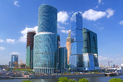 Moscow International Business Center. The tower of Moscow International Business Center Royalty Free Stock Photography