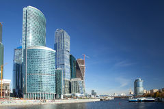 Moscow International Business Center Royalty Free Stock Photo