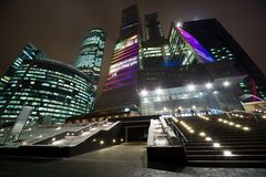 Moscow international business centre Royalty Free Stock Image