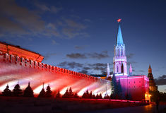 Moscow International Circle of LightFestival Royalty Free Stock Image