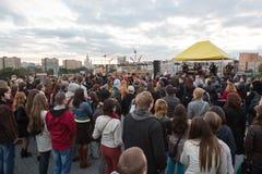 Moscow international festival of folk, ethno and world music HARVEST Royalty Free Stock Image