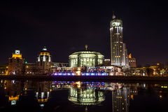 Moscow international house of music Royalty Free Stock Images