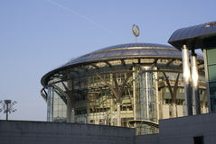 Moscow International House of Music. Outdoor view Royalty Free Stock Photos