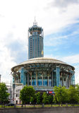 Moscow International House of Music. Russia Stock Photo