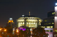 Moscow International House of Music. Moscow, Russia. October 11, 2014 Stock Photography