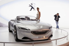 Moscow international motor show 2010 Stock Photography