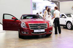 Moscow international motor show 2010 Stock Image