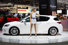 Moscow international motor show 2010 Royalty Free Stock Photography