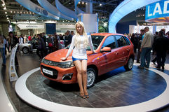 Moscow International MotorShow September 8,2012 Royalty Free Stock Photos