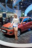 Moscow International MotorShow September 8,2012 Royalty Free Stock Images