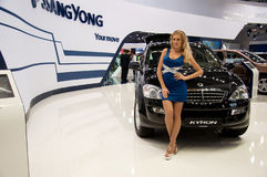 Moscow International MotorShow September 8,2012 Royalty Free Stock Image