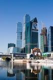 Moscow internationell affärsmitt, Moscow-Stad Fotografering för Bildbyråer