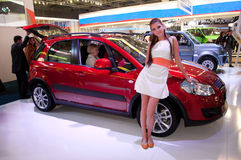 Moscow internationella MotorShow September 8.2012 Arkivfoto