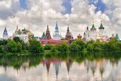 moscow izmailovo kremlin Стоковое Изображение