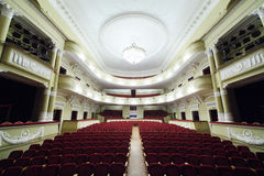 Empty hall in Palace on Yauza Royalty Free Stock Image