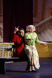 V.Yaremenko, P.Rostova at Musical Witches of Eastwick Stock Images