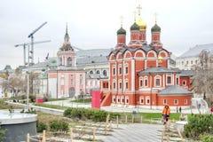 moscow Katedra ikona matka bóg znak t Fotografia Royalty Free