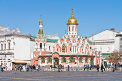 Moscow. Kazan Cathedral Royalty Free Stock Image