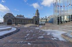 Moscow, Kiev railway station. royalty free stock photography