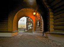 Moscow, Kolomenskoe, a wooden Palace 2 Stock Photography