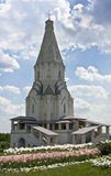 Moscow, Kolomenskoye church Royalty Free Stock Image