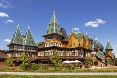 moscow Kolomenskoye O palácio do czar Alexei Mikhailovich fotos de stock