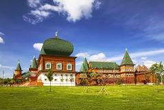 Moscow. Kolomenskoye. The Palace of Tsar Alexei Mikhailovich, Royalty Free Stock Photo