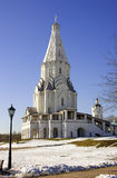 Moscow kolomenskoye reserve unesco masterpiece   church   ascension Royalty Free Stock Photography