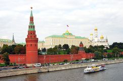 Moscow Kremlin. The Big Kremlin Palace. Royalty Free Stock Images