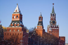 Moscow. Kremlin Stock Photos