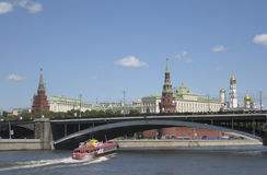 Moscow, Kremlin Royalty Free Stock Photo