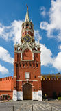 Moscow Kremlin. Spasskaya Tower of Moscow Kremlin Royalty Free Stock Images