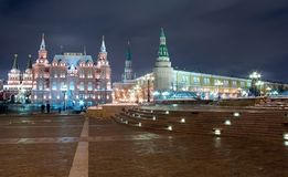 Moscow Kremlin cityscape Royalty Free Stock Photo