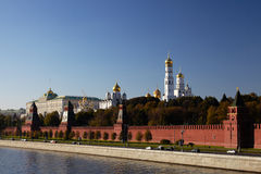 Moscow Kremlin. Russia Moscow Kremlin and moscow-river Royalty Free Stock Photography