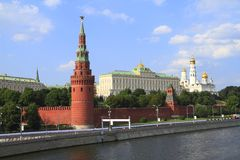 The Moscow Kremlin Royalty Free Stock Photos