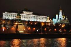 Moscow Kremlin. royaltyfri bild