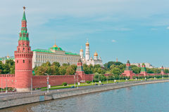 Moscow Kremlin. Old Moscow Kremlin in Russia, East Europe royalty free stock images