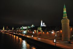 Moscow Kremlin. arkivfoto