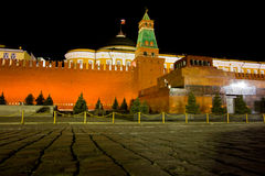 Moscow Kremlin. Kremlin (Cremlin) in Moscow with towers, palace, cathedral, wall of stones, Moscow river, embankment and bridge Royalty Free Stock Image