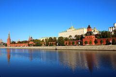 Moscow Kremlin. And Red Square in Moscow Stock Photography