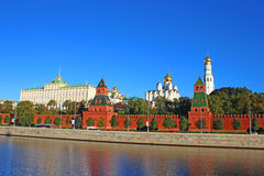 Moscow Kremlin. And Red Square in Moscow Royalty Free Stock Images